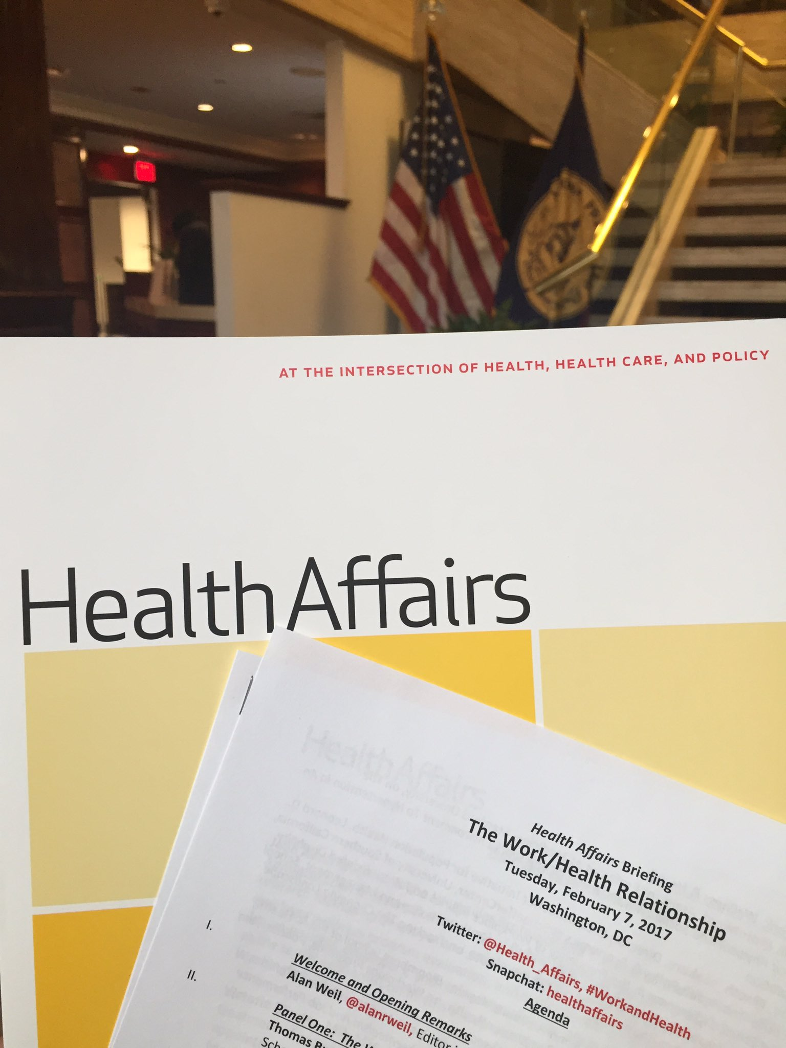 Follow @Health_Affairs DC briefing via #WorkandHealth, beginning 9:00AM EST. February special issue is a must read for employers. #benefits https://t.co/pkxhncYrve