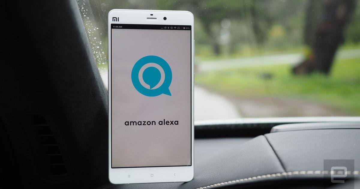 Logitech turns your car into a Amazon Alexa controller