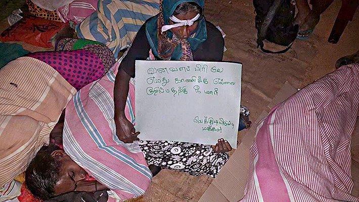 Women in week long sit down to regain occupied land threaten self-immolation https://t.co/XEhzHrdnSZ https://t.co/nqzD4BzEtv