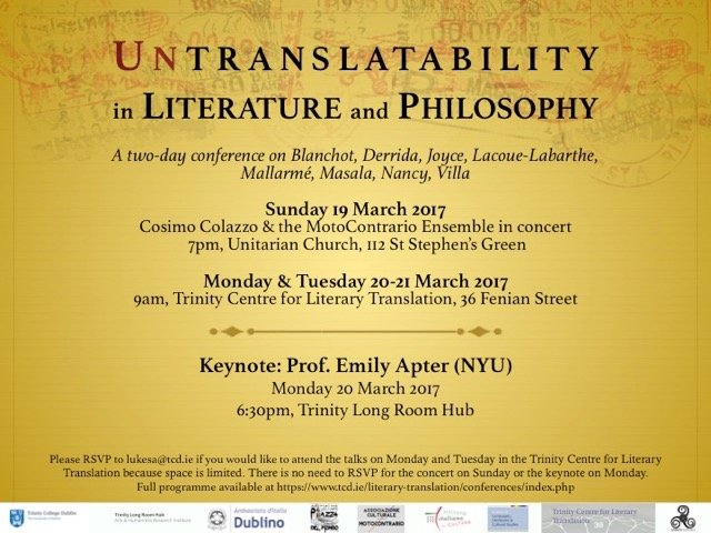 Sam Slote On Twitter Untranslatability In Literature And
