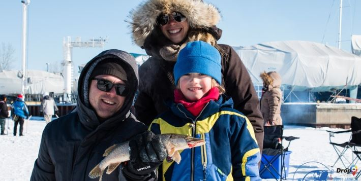 Join us for our #fundraiser in support of #refugees. All levels welcome. Equipment provided. Great way to try ice fishing!