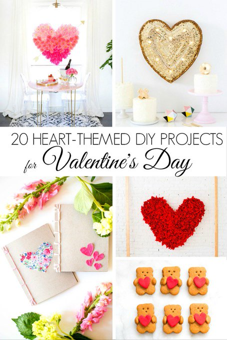 20 Heart-Themed DIY Projects for Valentine's Day