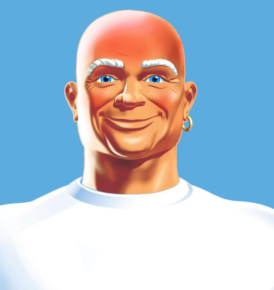 "Mr. Clean on Twitter: ""You won't believe what happens when ... Real Mr Clean"