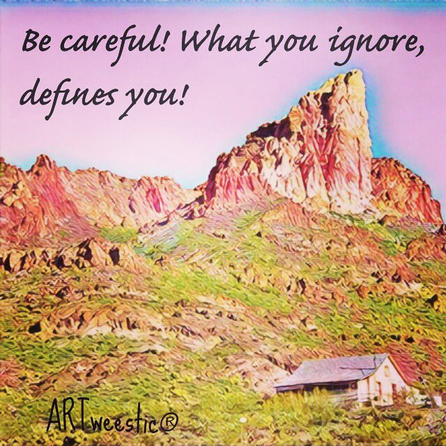 Be careful! Why you ignore, defines you! #byVera #ARTweestic® #quotes https://t.co/sO97LuRbDF