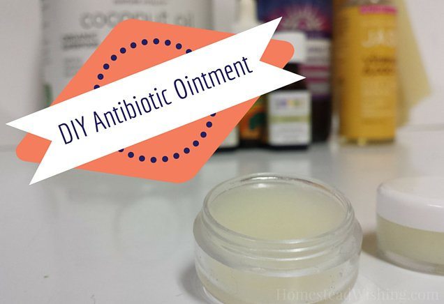 DIY Antibiotic Ointment