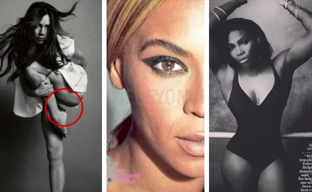 The 41 worst celebrity Photoshop fails of all time - MSN