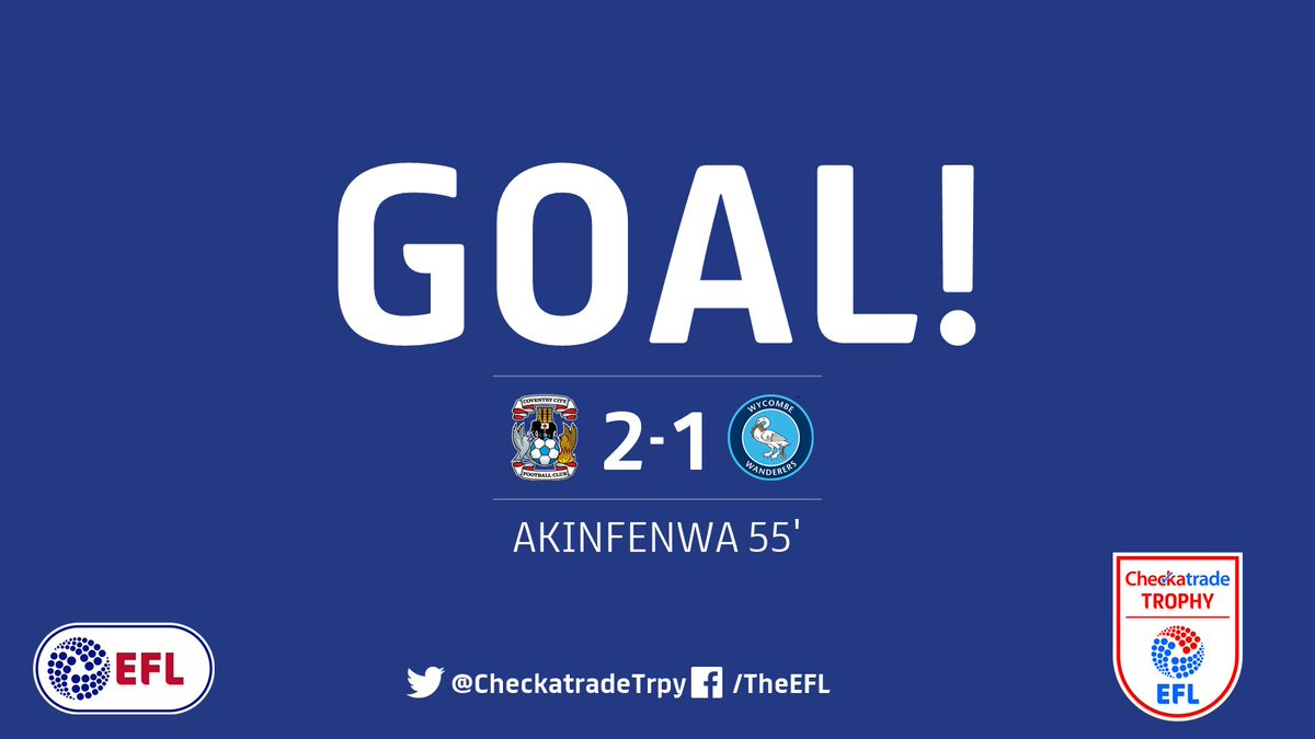 Game on!  Adebayo Akinfenwa brings @wwfcofficial back into this #Check...