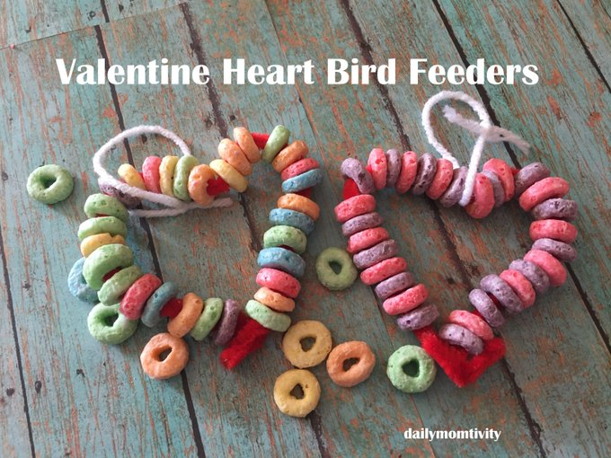 Valentine Heart Bird Feeder • TeeterTot
