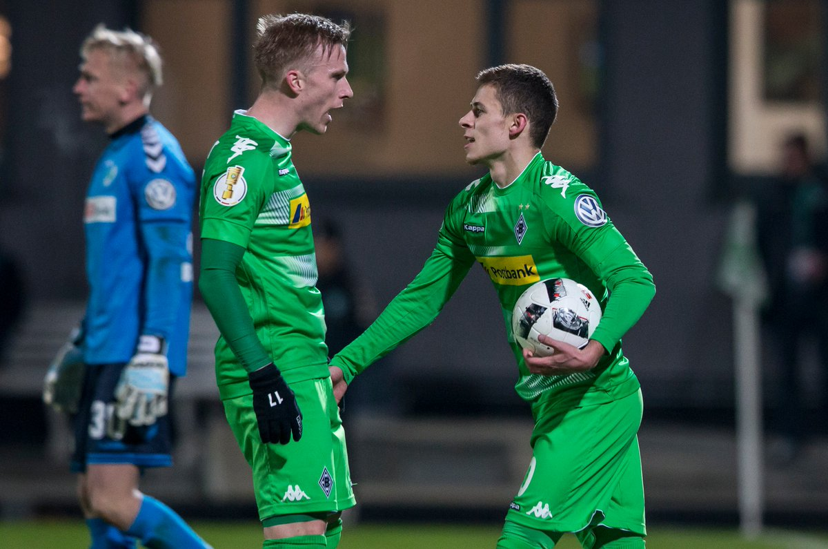 Video: Greuther Furth vs Borussia M gladbach