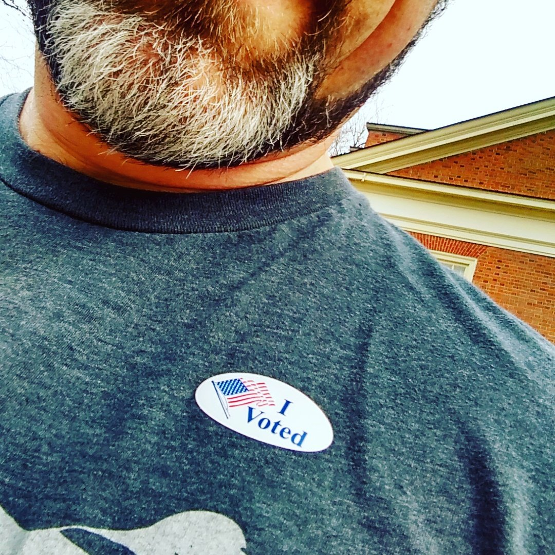 Today is the special election in Virginia's 71st District. Go vote for @JeffMBourne for Virginia House of Delegates! https://t.co/PsKb0b9Icr