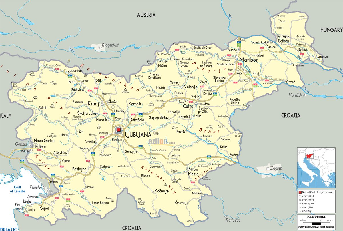 Itsgreat On Twitter Slovenia Is Shaped Like A Majestic