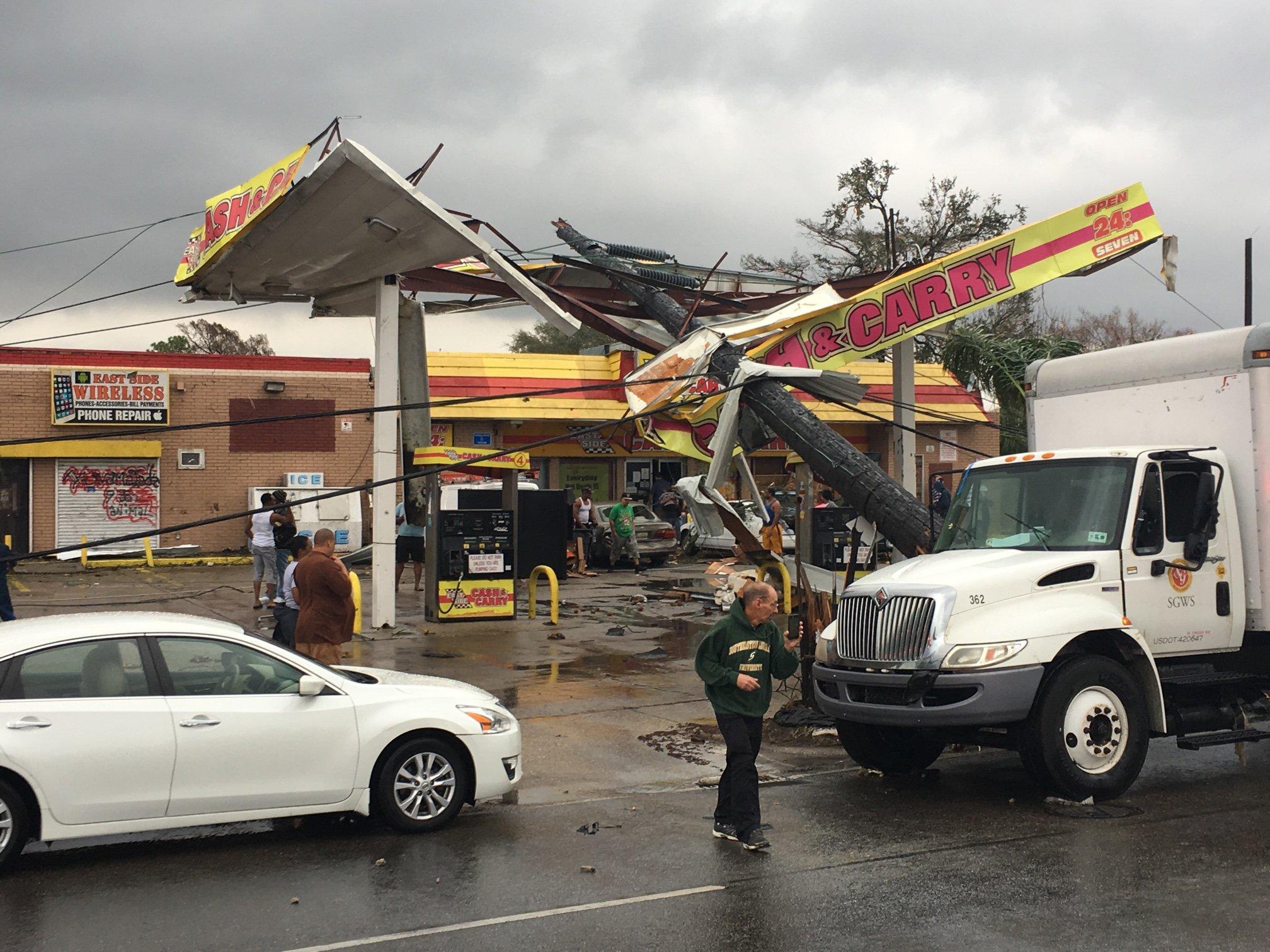Thumbnail for Tornado strikes New Orleans area