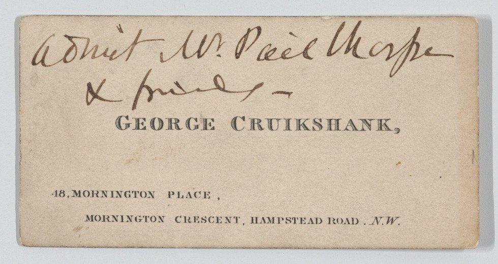 @murakamirico ヴィクトリア女王の喪服(1894年頃)とジョージ・クルックシャンクの訪問…