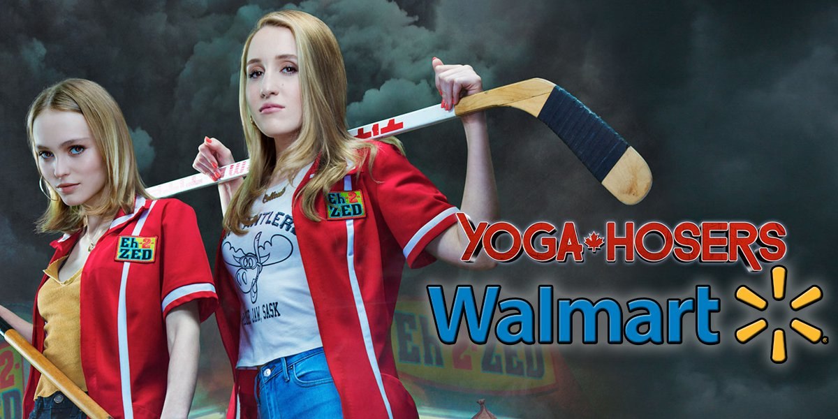Pickup a copy of #YogaHosers from @Walmart with their National Rollout promotion! Only 40,000 copies will be sold at a $13-$16 price point! https://t.co/UVr8EJUChO