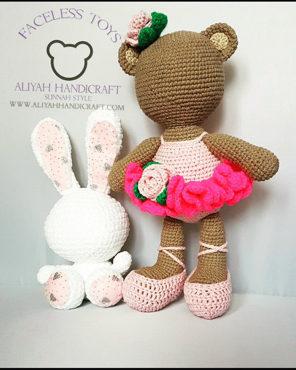 Elfin Thread- Bonbon, the Ballerina Bear Amigurumi PDF PAttern ...   1200x960