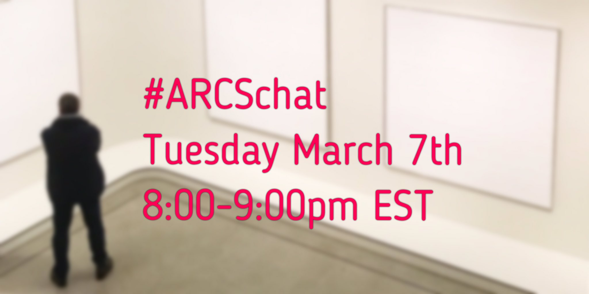 Thumbnail for #ARCSchat 07 March 2017 Professional Conferences