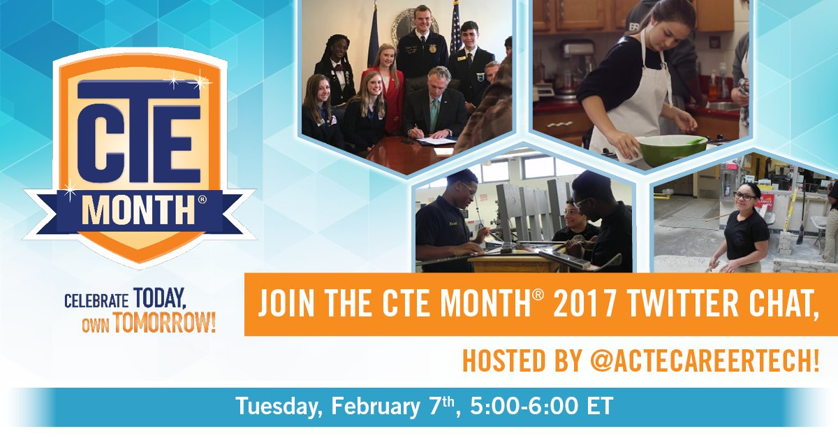 Thumbnail for CTE Month 2017 CTSO Twitter Chat