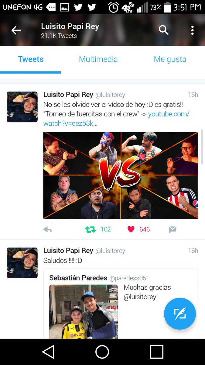 Luisito Rey  on Twitter luisitorey por eso valorenme y