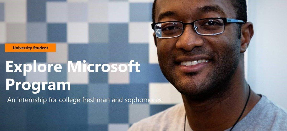 microsoft internship freshman
