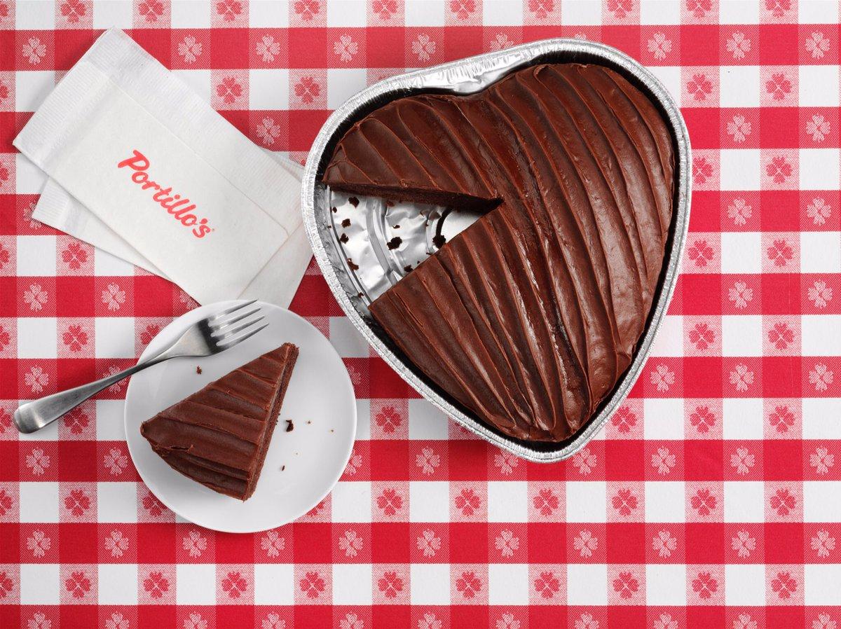 Portillo S Heart Cake