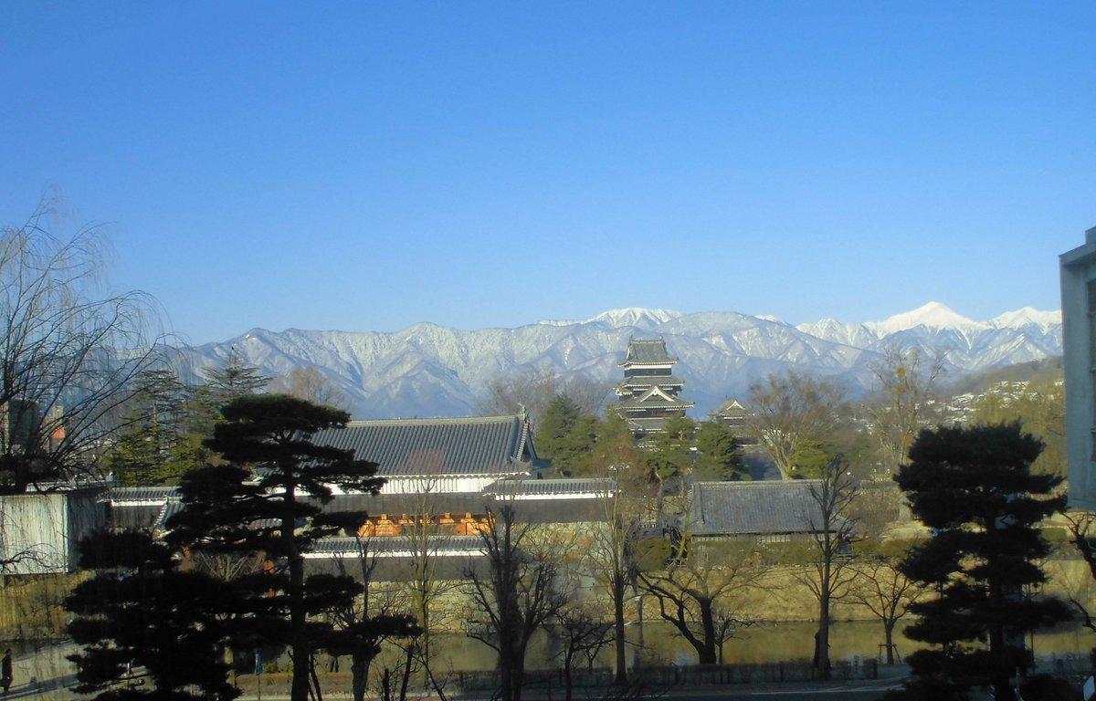 2月8日 午前8時30分 国宝松本城