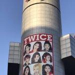 渋谷109に、今度はアイドルグループTWICEが登場!