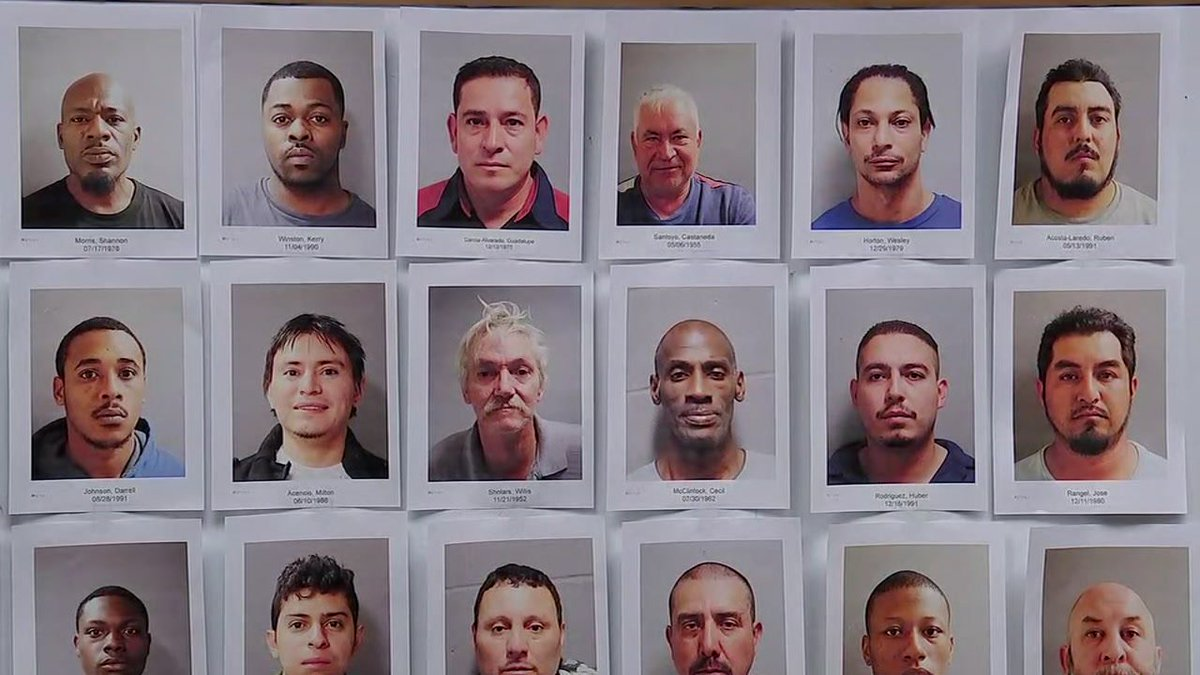 Harris County : MUGSHOTS arrested day prostitution sting Harris