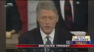 """.@billclinton #SOTU address in 1995: """"We are a nation of immigrants, but we are also a nation of laws."""" #First100"""