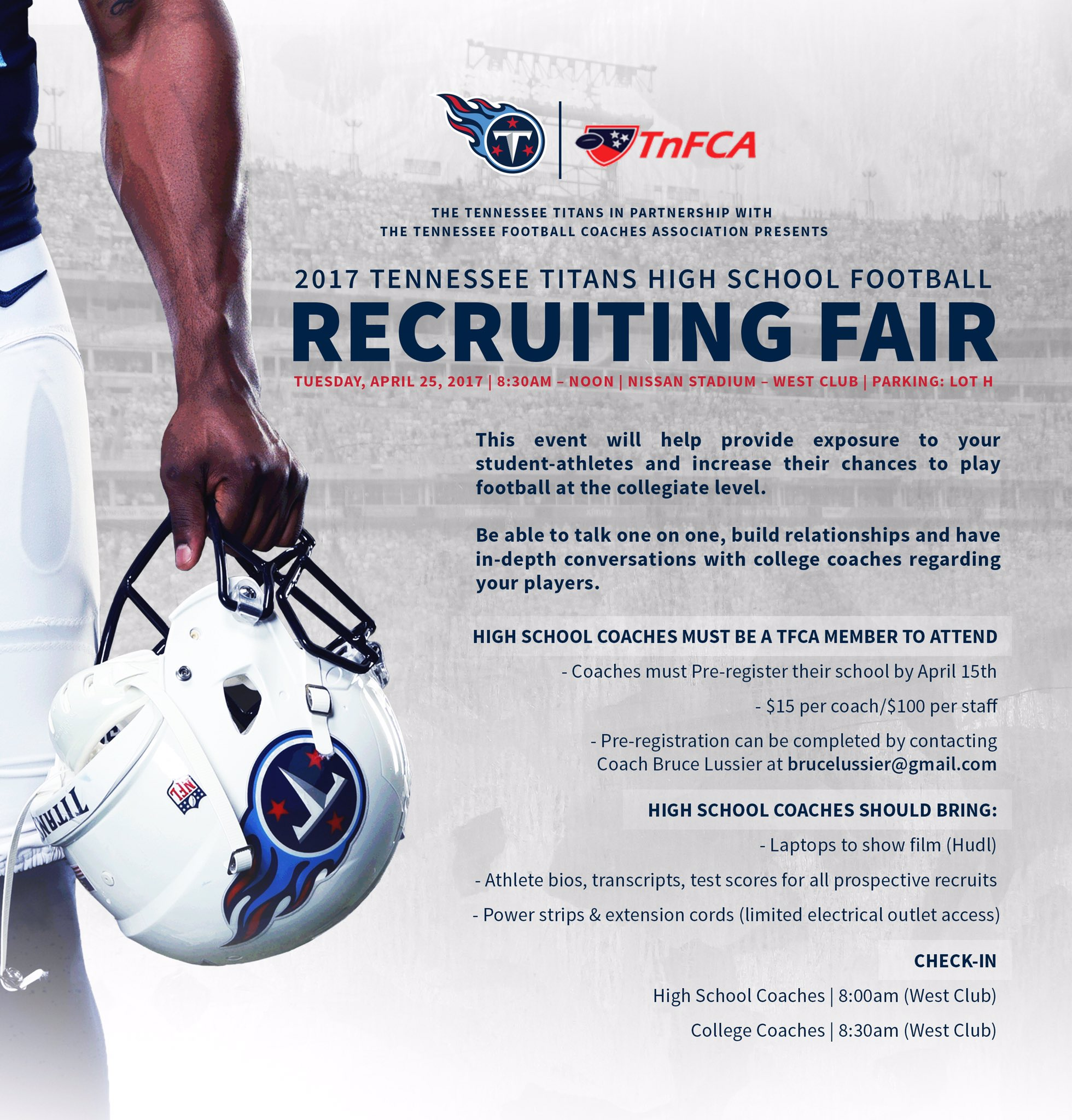 Tnfca On Twitter The 2017 Tnfca Recruiting Fair Is Right Around