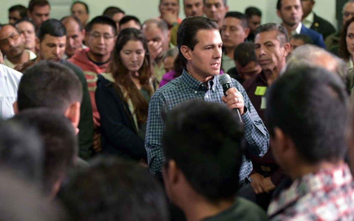 Esto promete Peña Nieto a los mexicanos repatriados de EU
