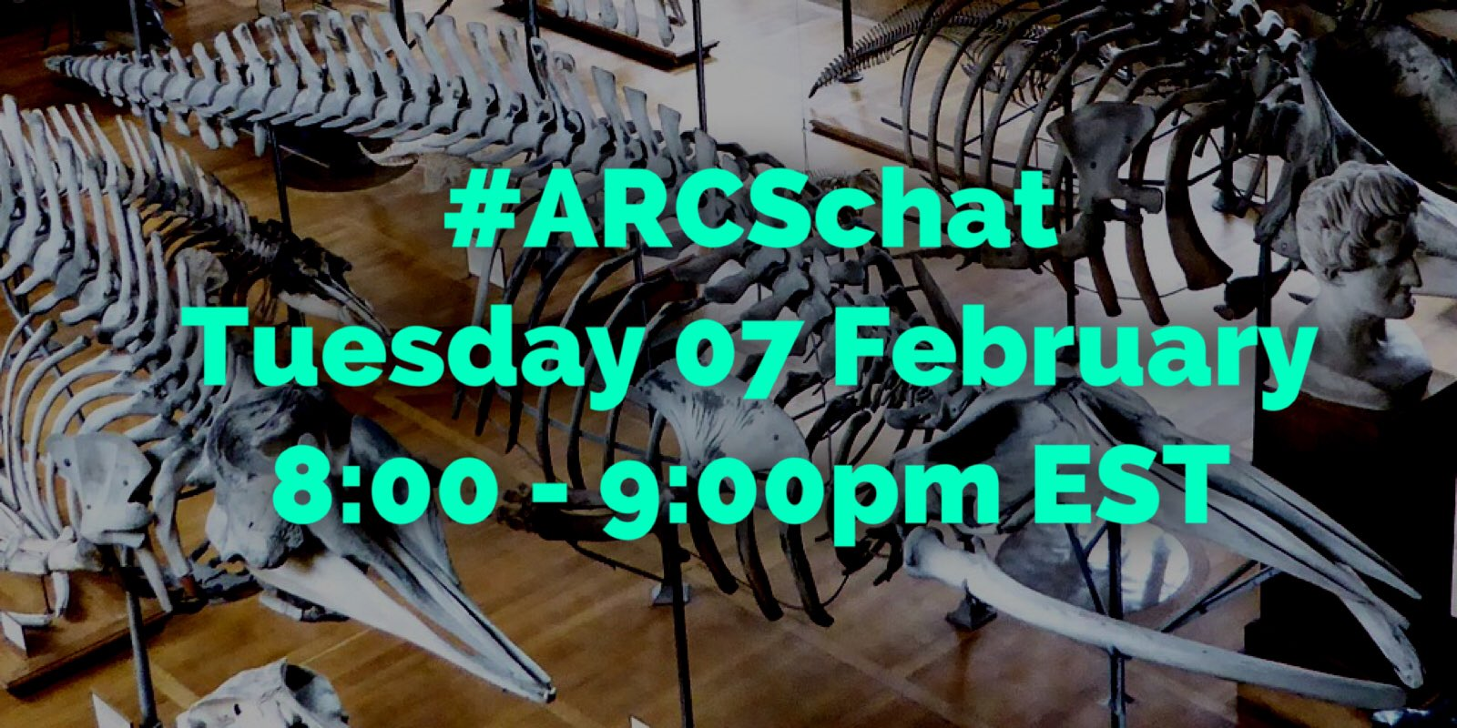 "Thumbnail for #ARCSchat 07 February 2017 ""Working"" Collections"