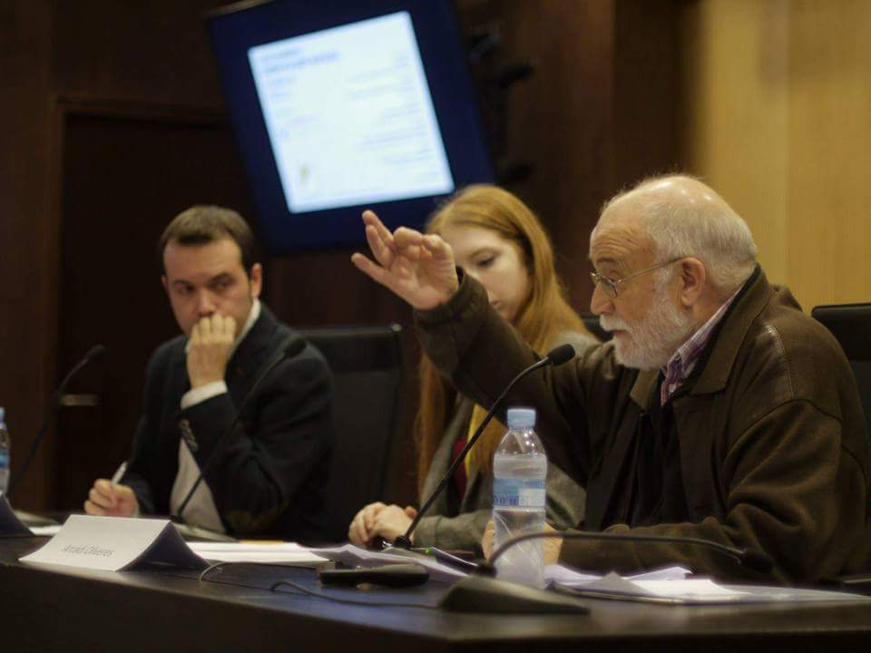 Debate con Arcadi Oliveres: capitalismo y desigualdad