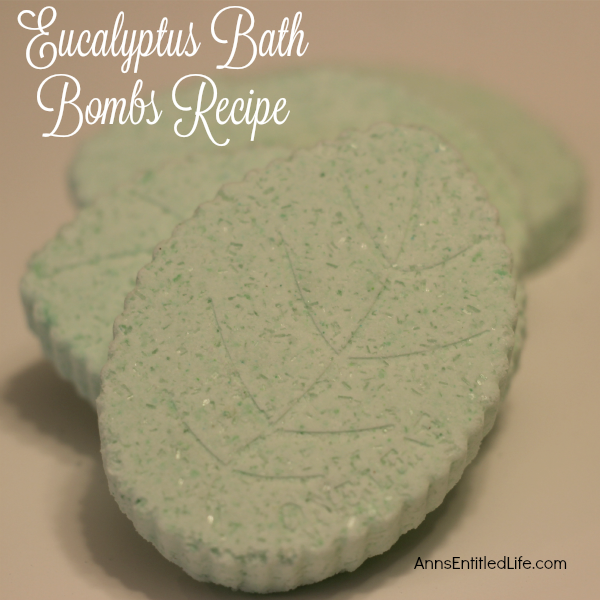 Eucalyptus Bath Bombs Recipe