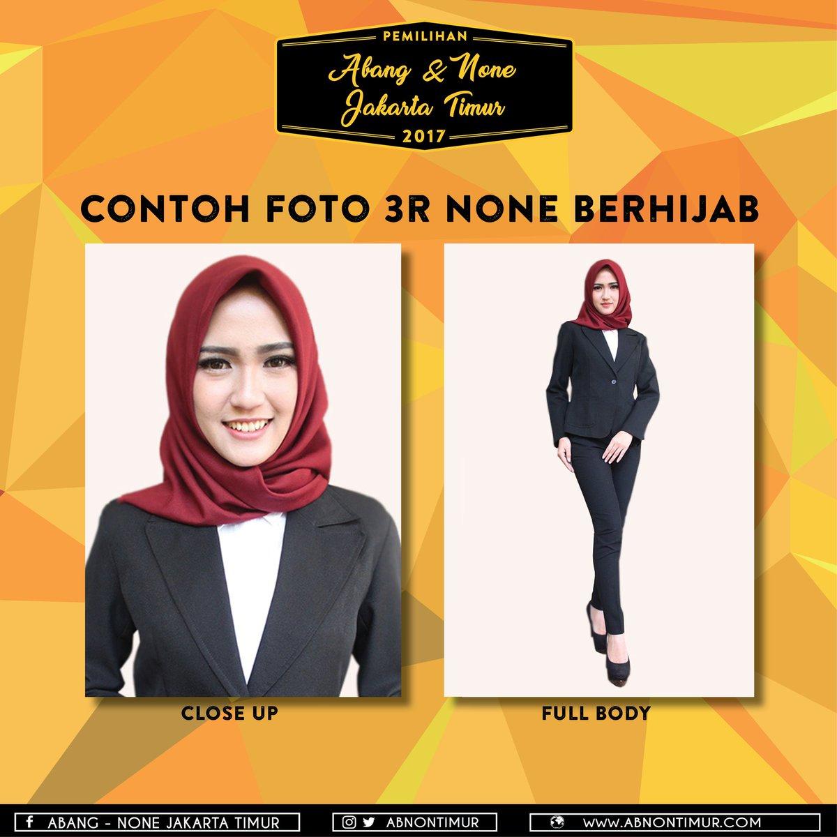 Abnon Jakarta Timur On Twitter None Berhijab Memakai Hijab Polos