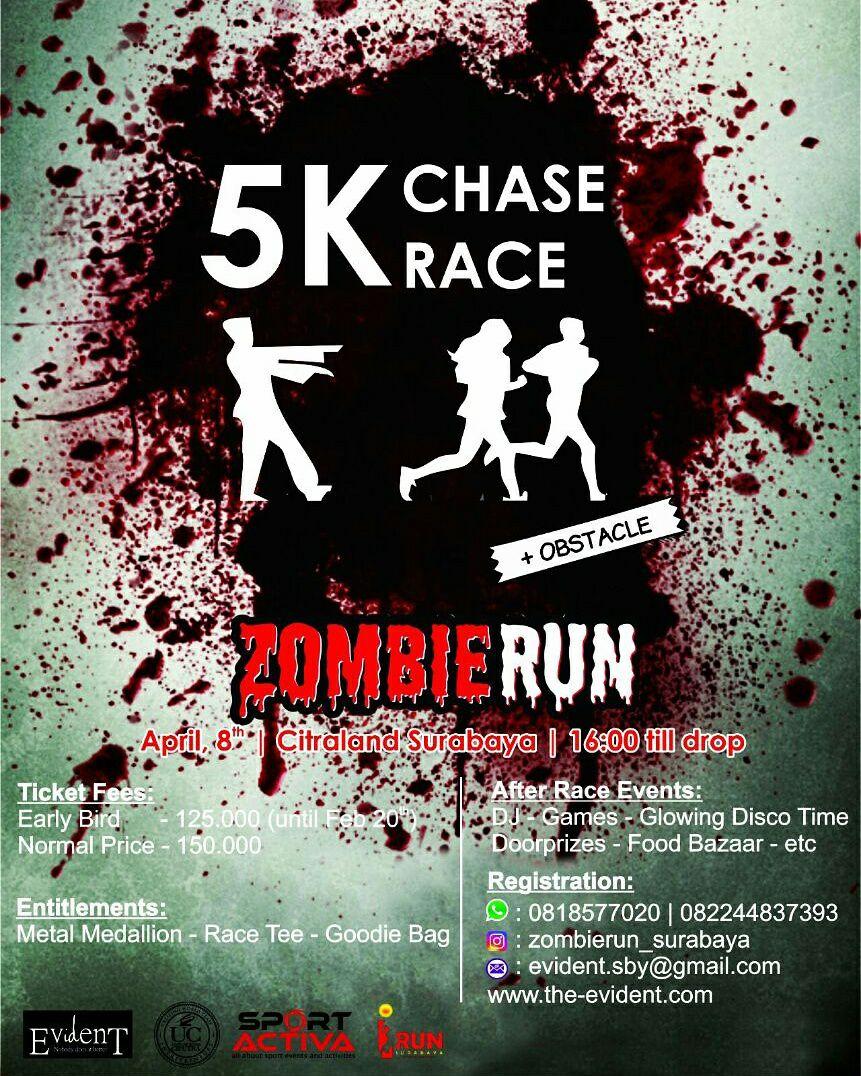 Zombie 5K Chase Run • 2017