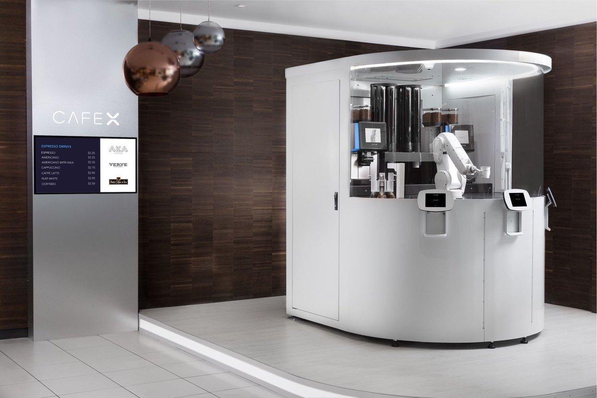 Un caffè completamente automatizzato, il Cafè X