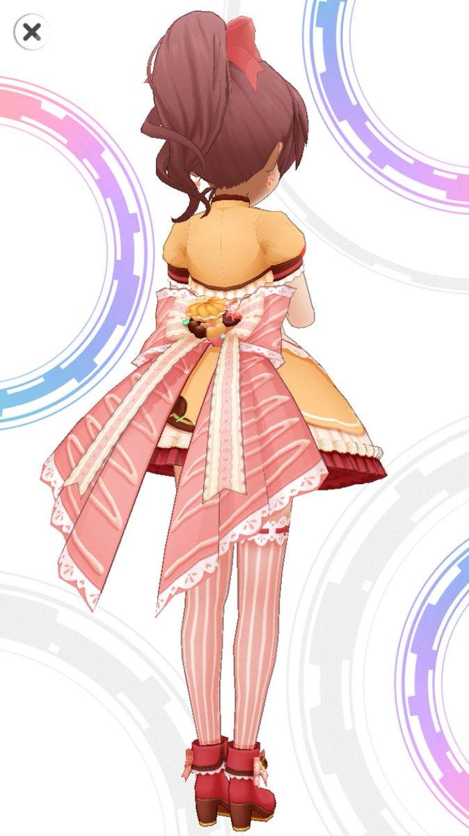 取り急ぎSSR椎名法子の衣装です。お納めください。