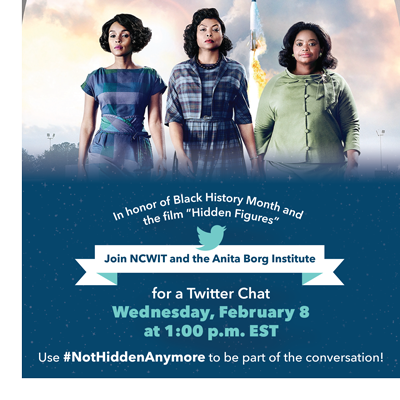 Our very own Dr. LaNetra Tate will be participating in the #NotHiddenAnymore Twitter chat on 2/8 at 1pm EST https://t.co/xUfHu1aATv https://t.co/1QbRY2D7nw