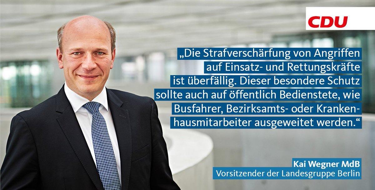 Kai Wegner: Auch der Öffentliche Dienst muss geschützt werden!