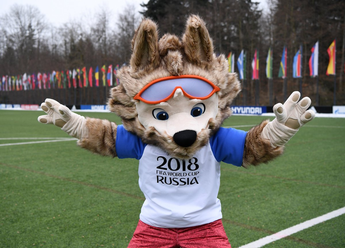 Image result for fifa world cup 2018 mascots