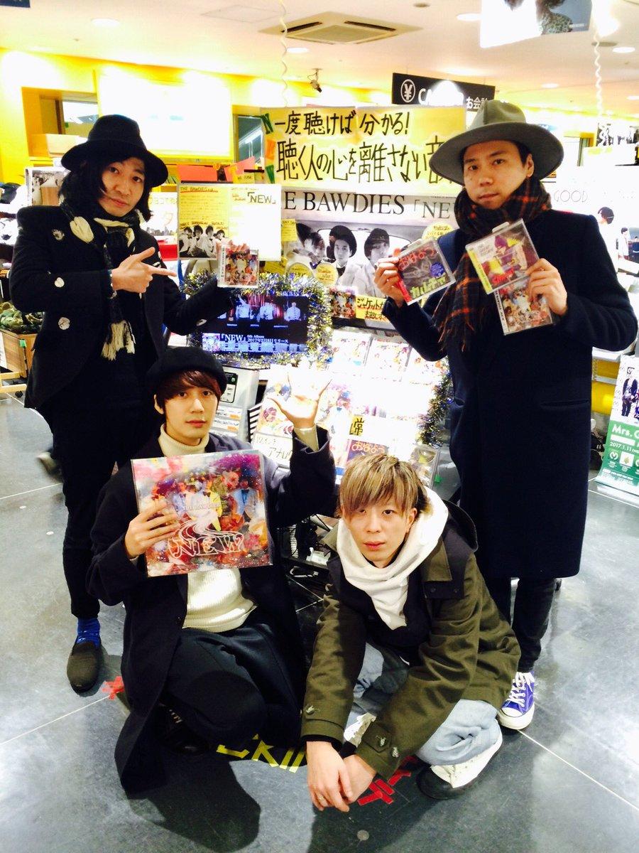 【アルバム「NEW」リリース!お店回り】 本日最後のCDショップはタワーレコード横浜ビブレ! 床にま…