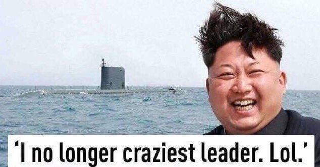 Bildergebnis für no longer the craziest leader