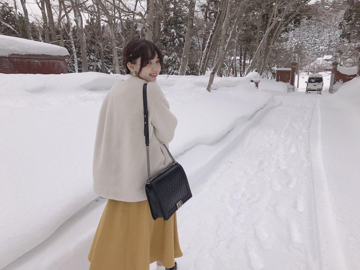 福島県に行ってました〜♡ ものすごく綺麗だった。素敵。