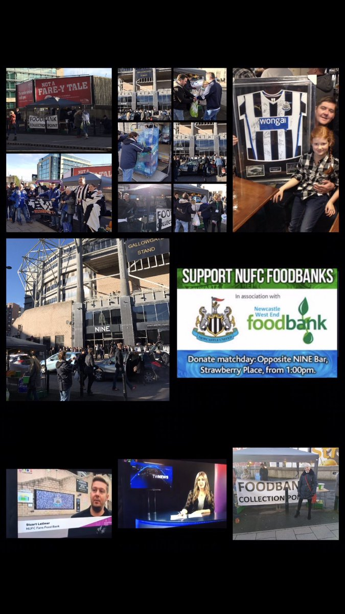 Nufc Fans Food Bank At Nufcfoodbank Twitter