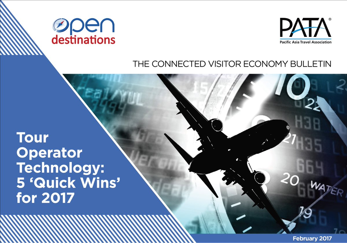 .@OpenDest shares 5 'Quick Wins' for 2017 on Tour Operator Technology in the second edition of #VEBulletin http://bit.ly/VEFeb2017 pic.twitter.com/thLWsAV28g
