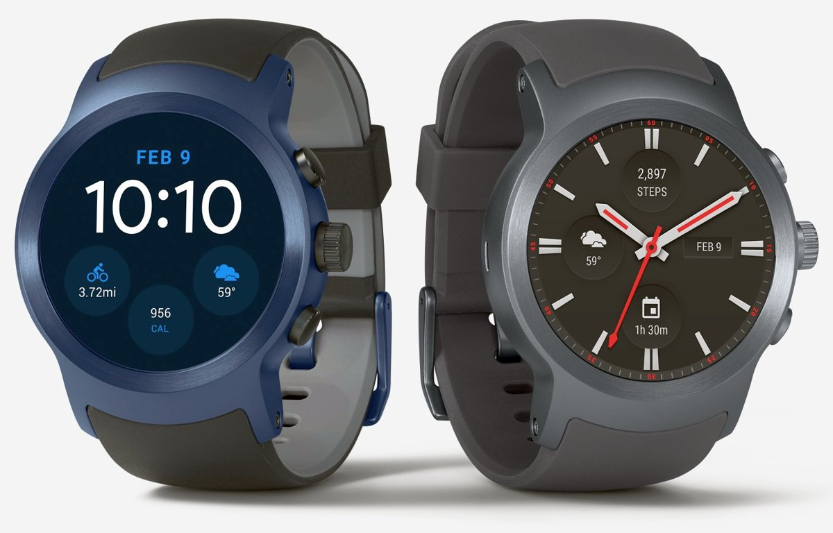 New LG Watch Sport render leaked