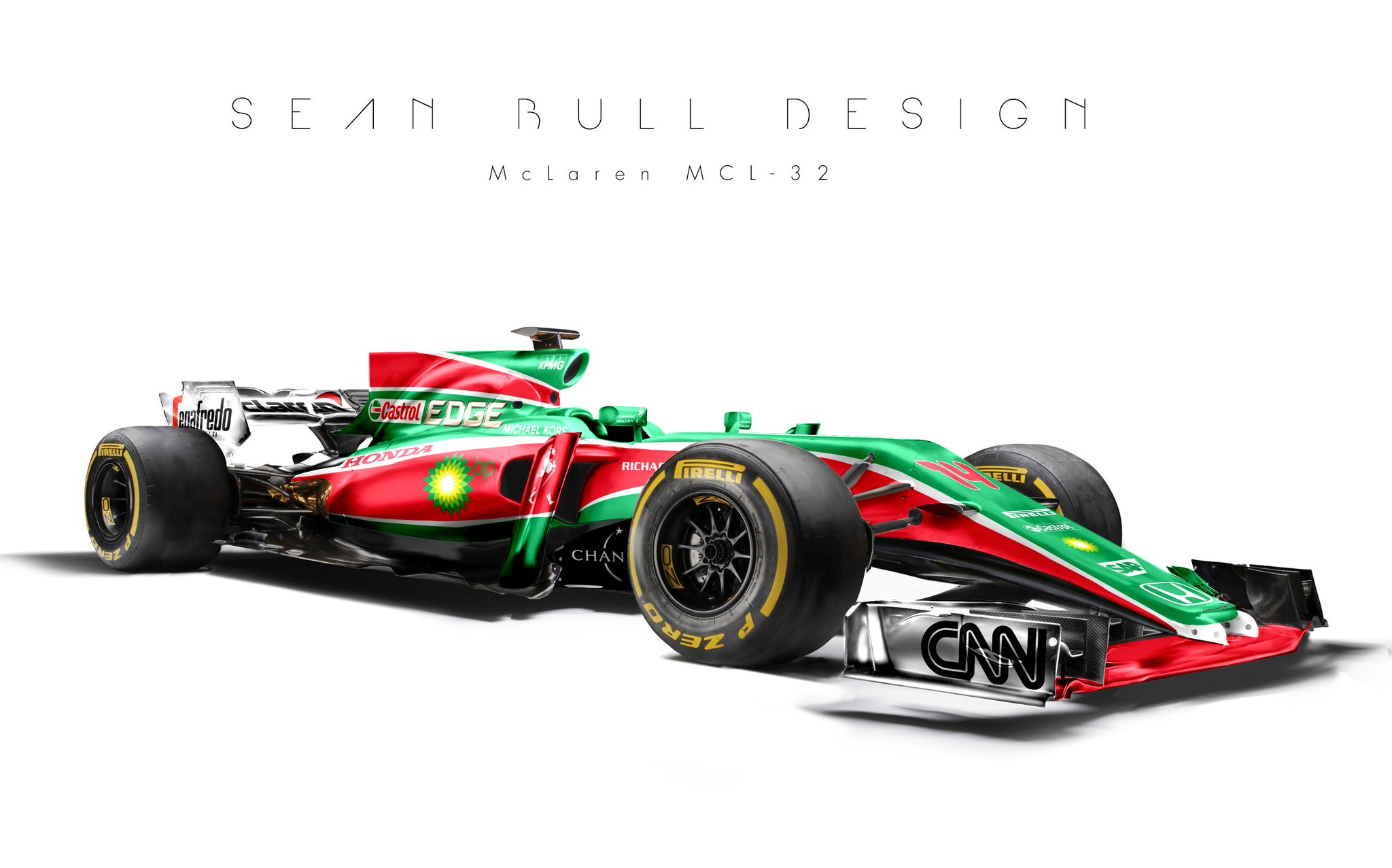 Sean Bull Design On Twitter Quot How About A Castrol Livery