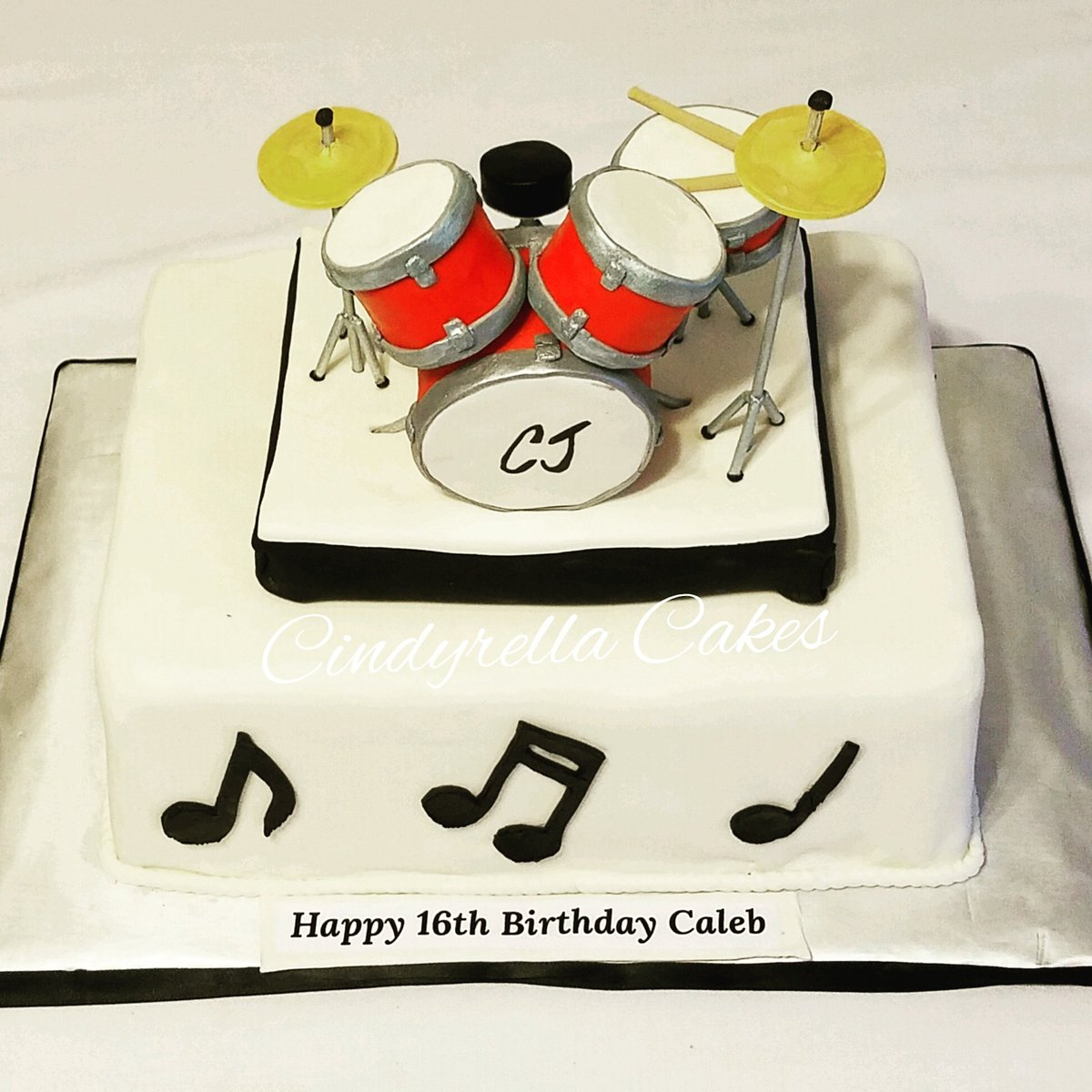 Cindyrella Cakes On Twitter Birthday Cake For The Drummer Boy