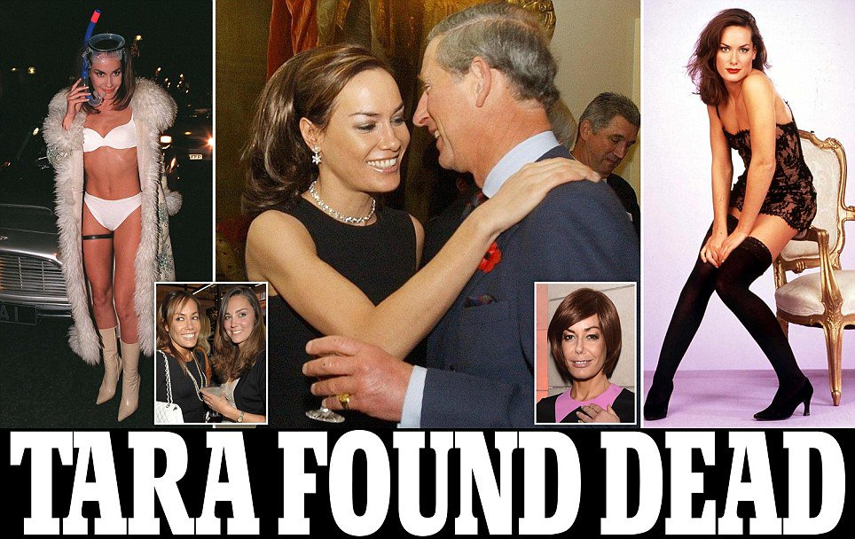 Socialite Tara Palmer-Tomkinson found dead at London home