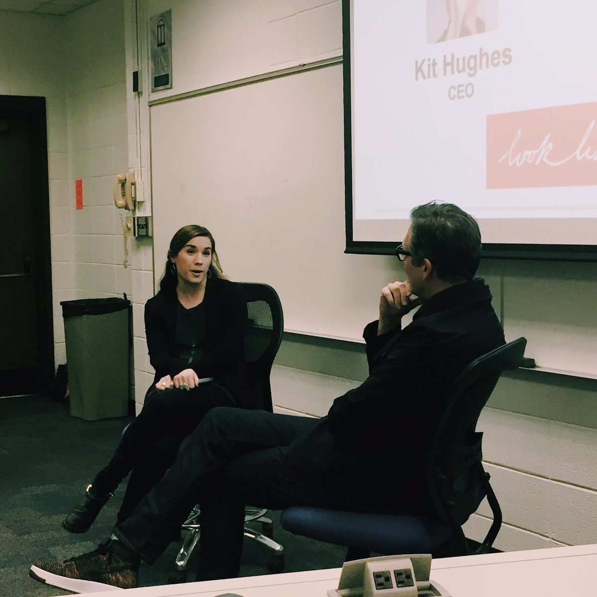 "AMA UGA on Twitter: ""Shoutout to CEO, Kit Hughes, and Senior Media Manager,  Laura Beaupre, from @looklisten. Thanks for dropping by � #AMAatUGA #AMA  ..."